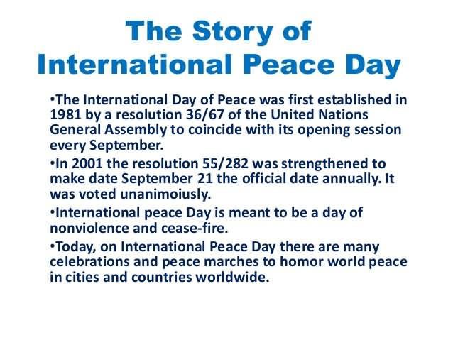 66-International Peace Day Wishes