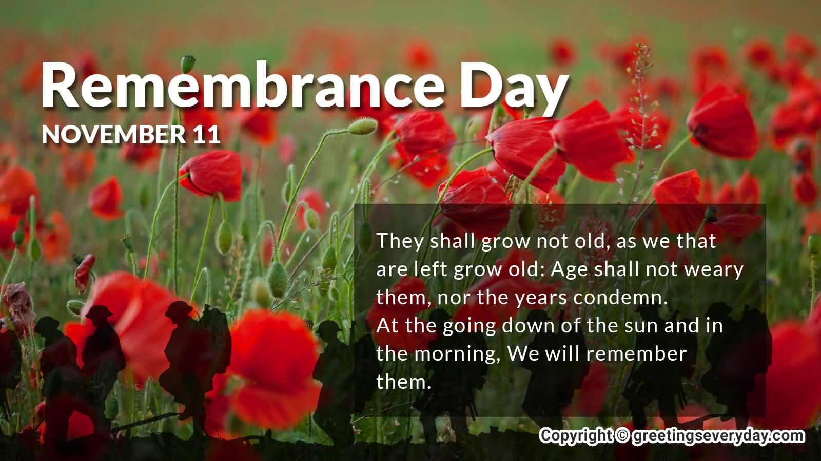 7-Remembrance Day Wishes