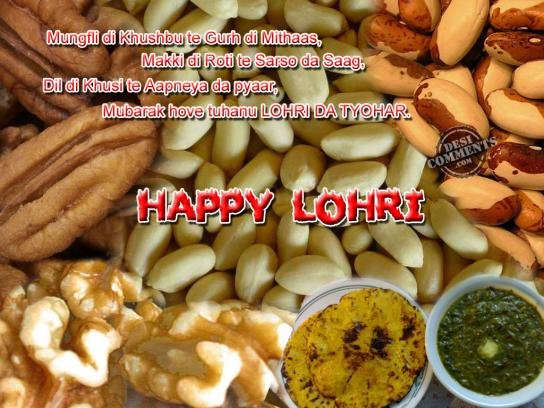 76-Happy Lohri Wishes