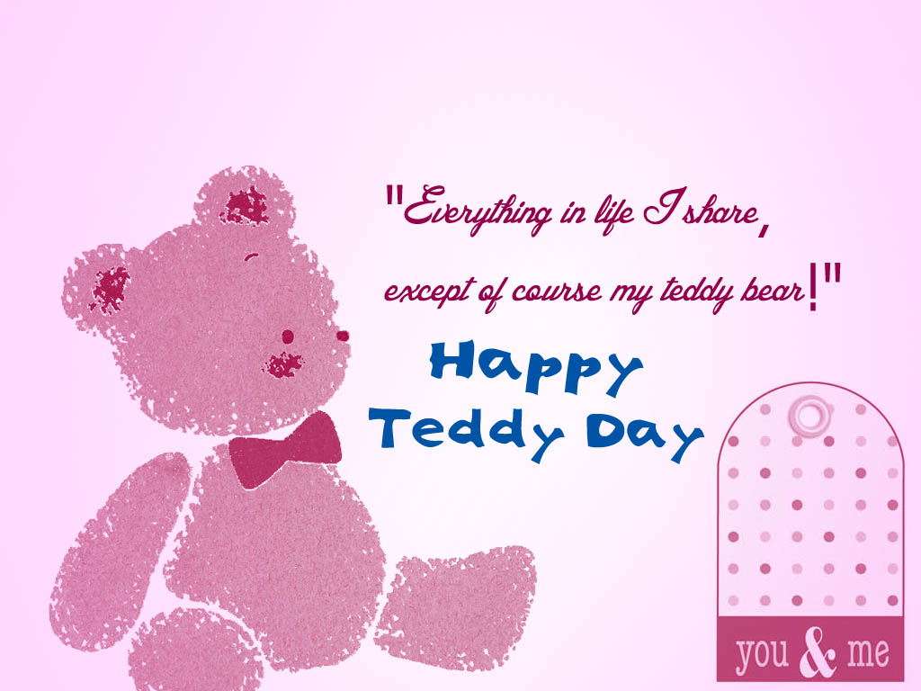 8-Teddy Day Wishes