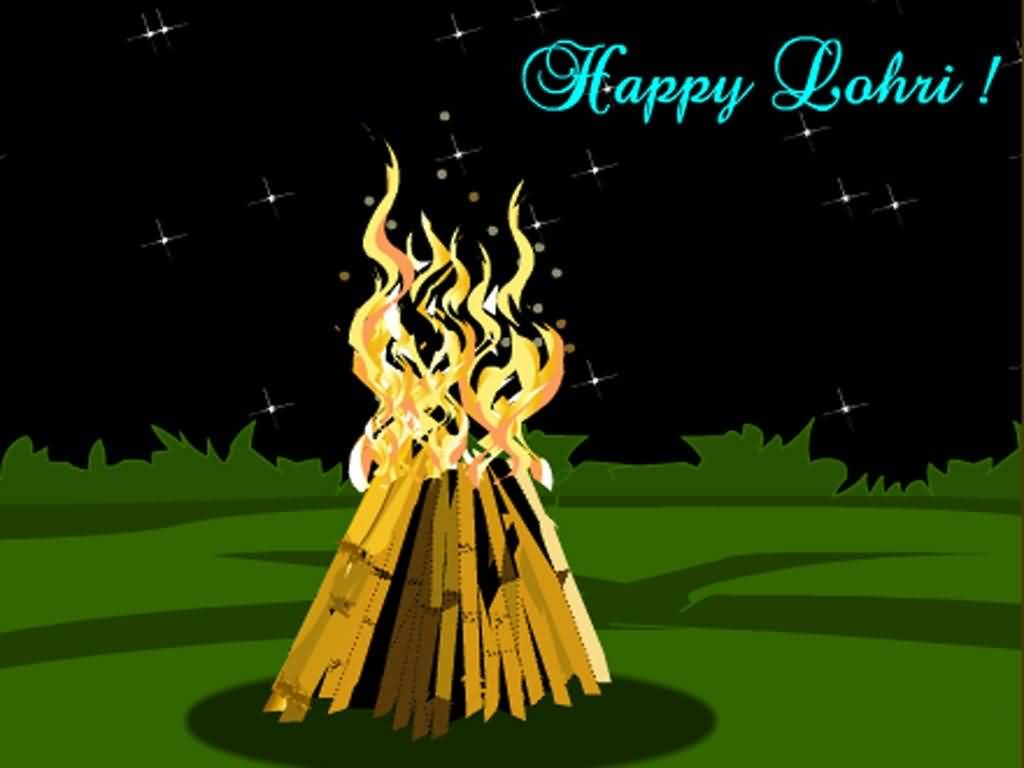 83-Happy Lohri Wishes