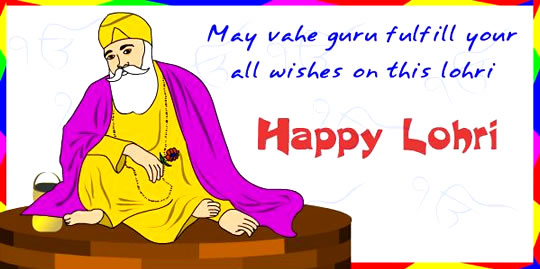 84-Happy Lohri Wishes
