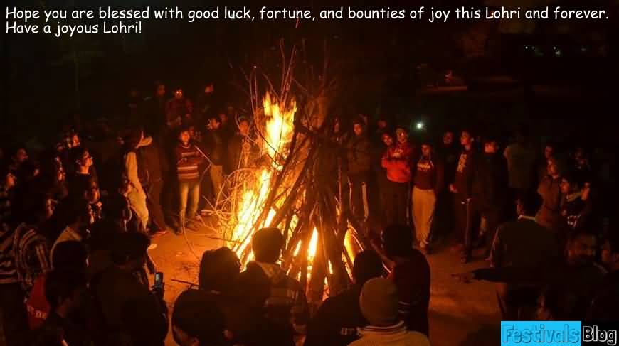 87-Happy Lohri Wishes