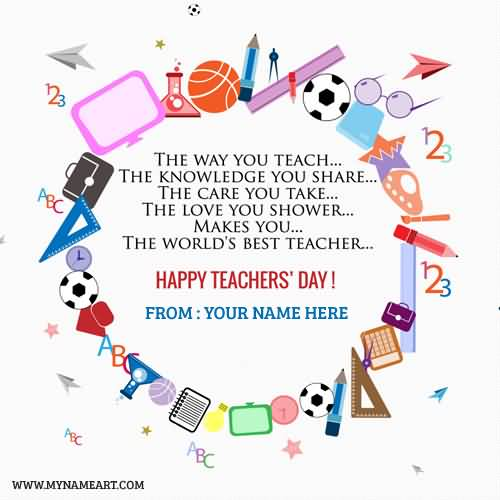 91-World Teachers Day Wishes