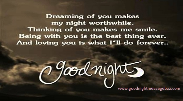 Dreaming Of You Makes My Night Worthwhile Good Night ...