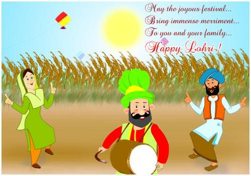 93-Happy Lohri Wishes