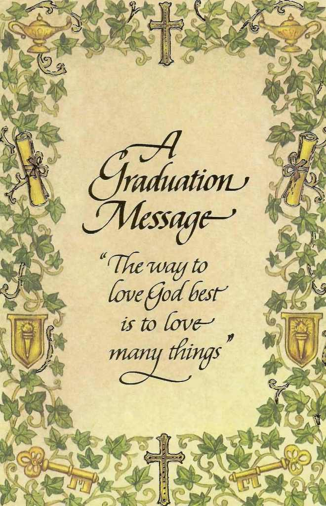 A Graduation Greeting Message For Girl