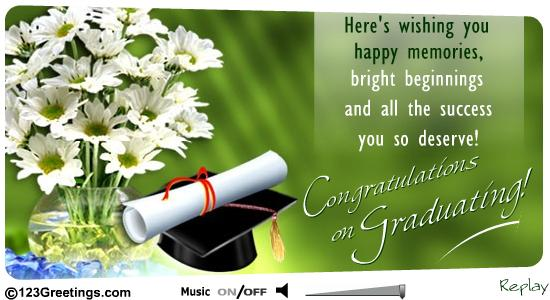 All The Success You So Deserve Congratulations On Graduating Wishes For Sister