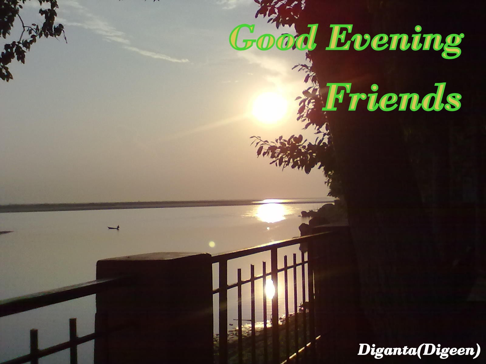 Beautiful Good Evening Friends Image