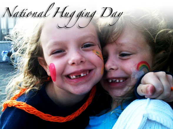 Children On National Hugging Day Picture