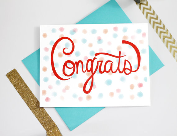 Congrats Greeting Card Greeting Image