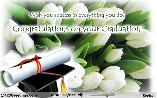 Congratulations On Your Graduation Wishes For Friend