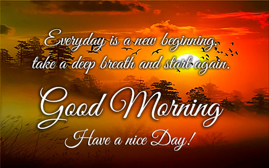 Fresh Good Morning Quotes For Friends Have A Nice Day