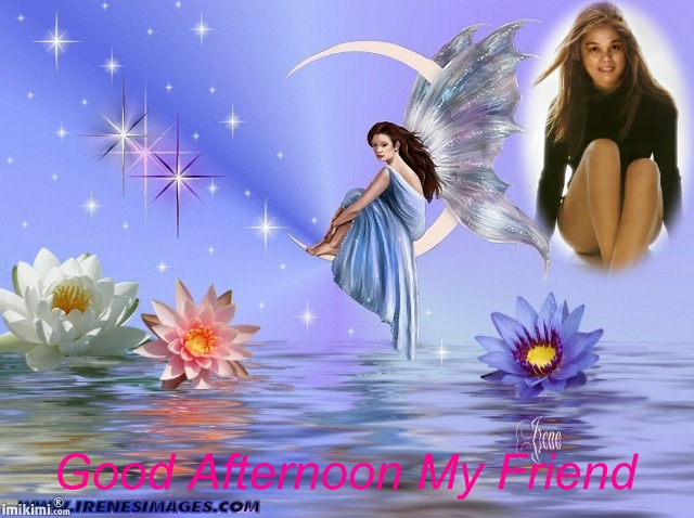 Good Afternoon My Friend Beautiful Angels Image