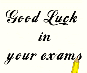 Good Luck In Your Exam For Brother Greeting