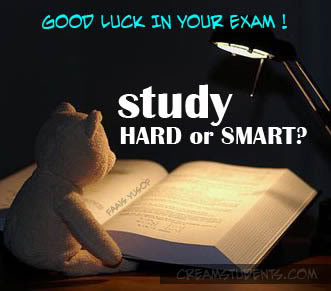 Good Luck In Your Exam Study Hard Or Smart For Boyfriend