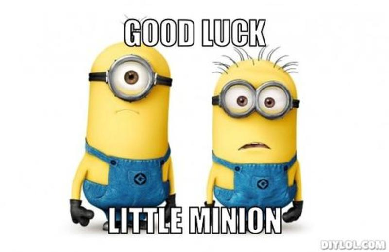 Good Luck Little Minion Wishes For Facebook