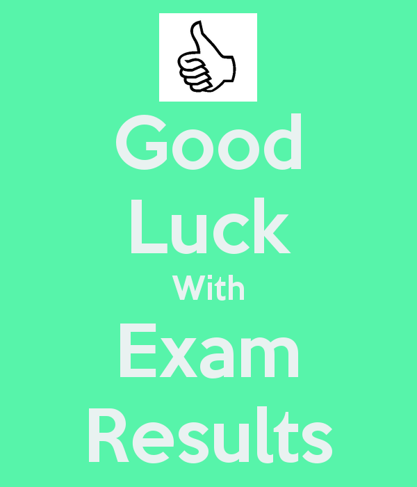 Good Luck With Exam Results For Best Friend Image