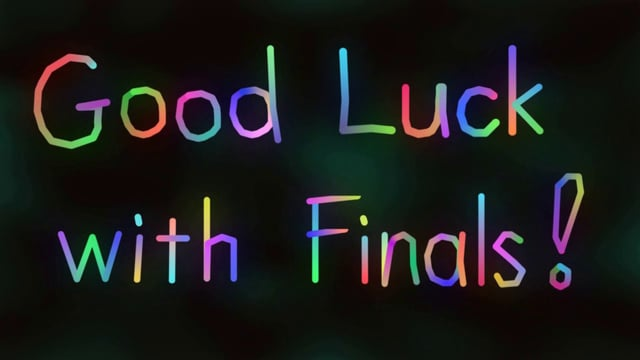 Good Luck With Finals For Girlfriend