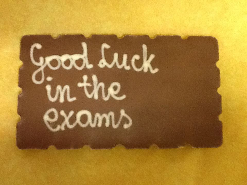 Great Good Luck In The Exams Greeting