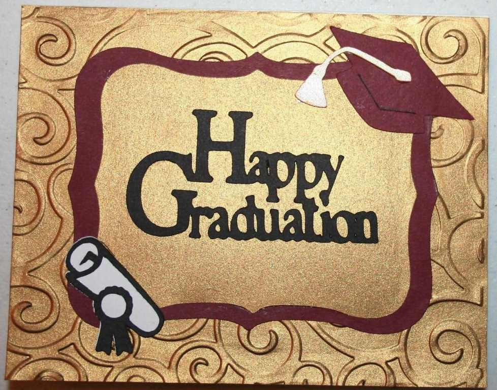 Happy Graduation Greeting Card For Friend