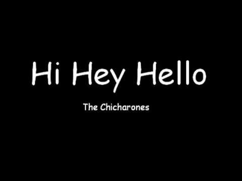 Hi Hey Hello Greeting Message