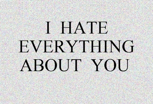 I Hate Everything About You Text Image