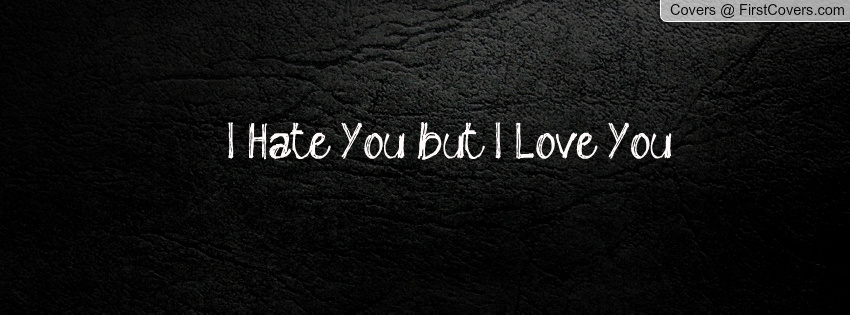 I Hate You But I Love You Cover Picture