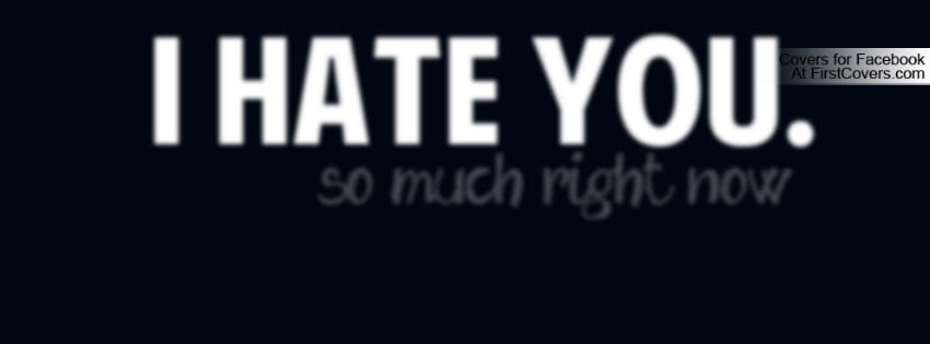 I Hate You So Much Right Now Cover Wallpaper