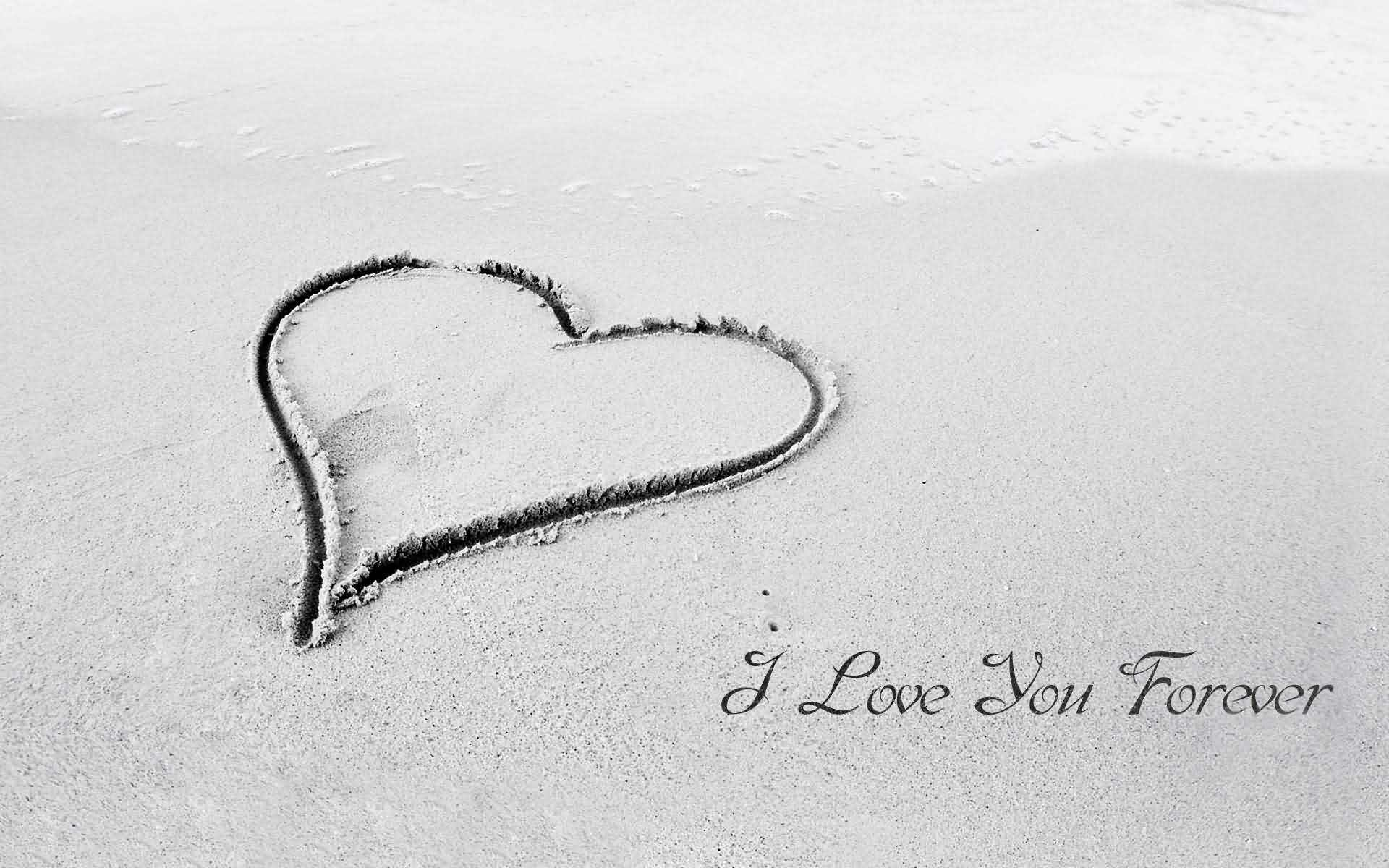 I Love You Forever Wonderful Image Greeting