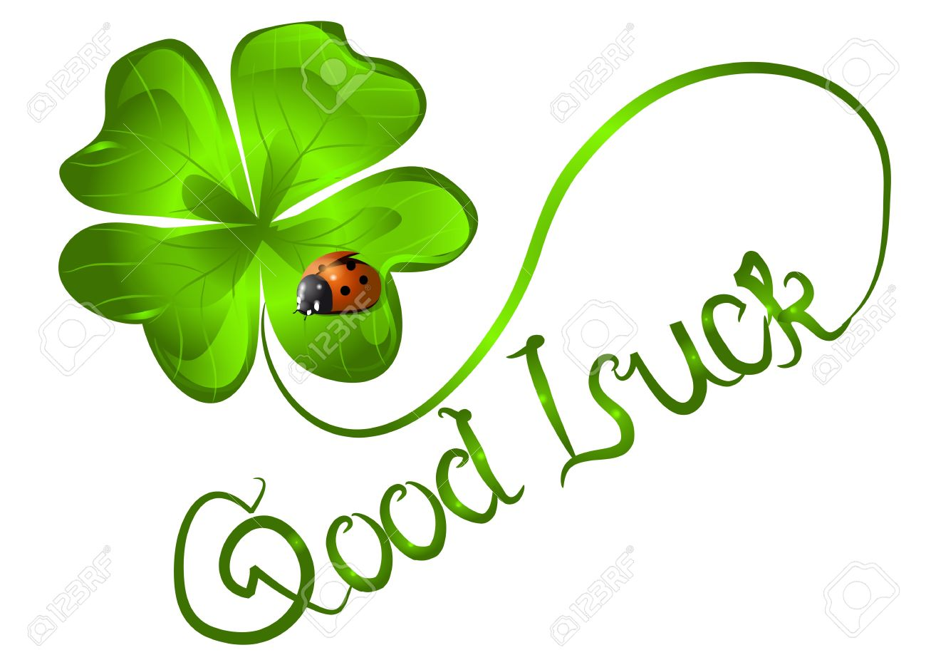 Leaf Good Luck Wishes Image