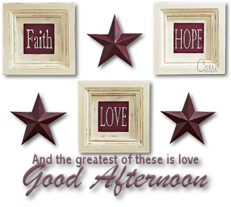 Love Is Greatest Good Afternoon Image