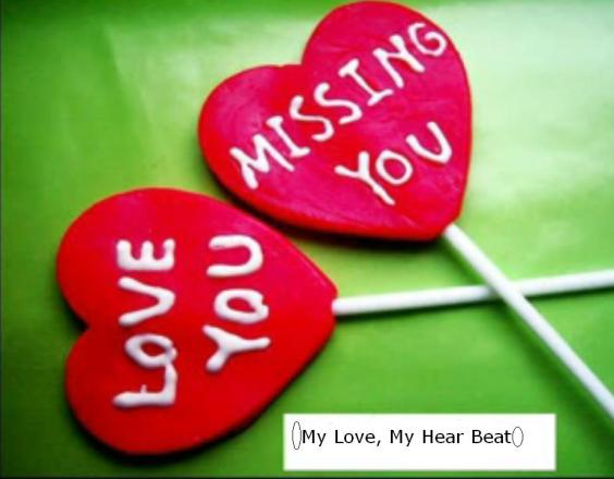 Love You Missing You Greeting Image For Boyfriend