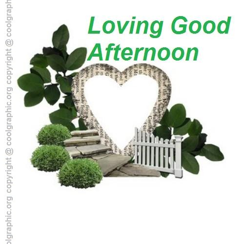 Loving Good Afternoon Greeting Image