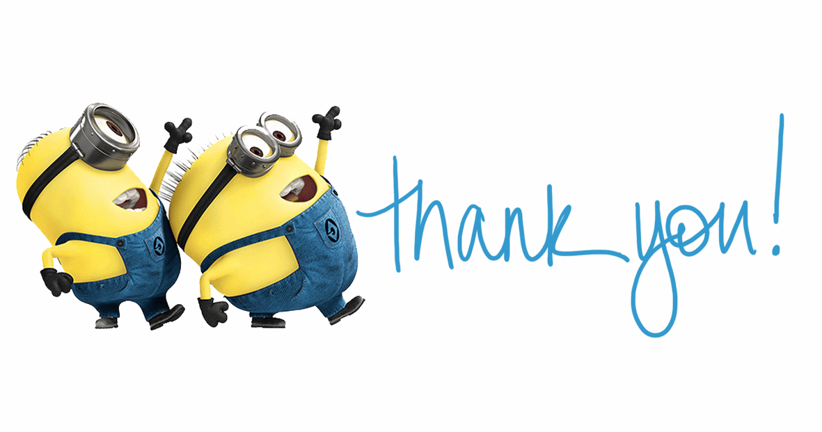 Minions Says Thank You Image For Facebook