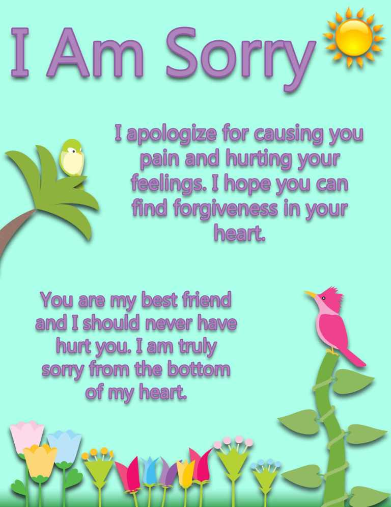 My Best Friend Sorry From Bottom Of My Heart Quotes Picture