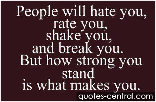 People Will Hate You Quotes Image