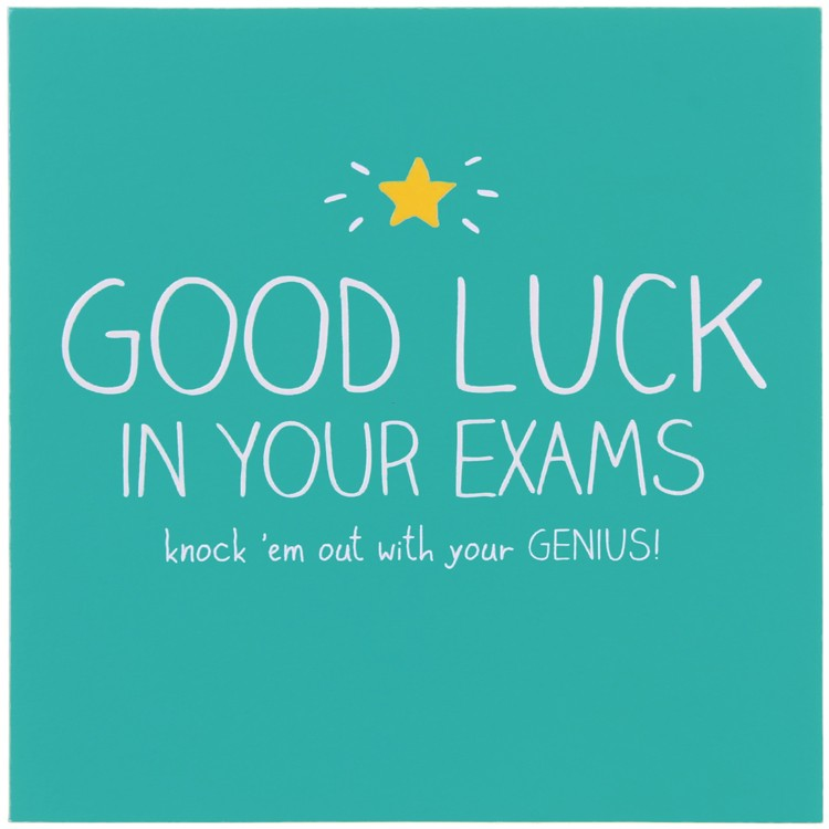 Perfect Good Luck In Your Exams Image