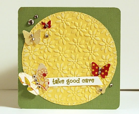 Take Good Care Wishes Card