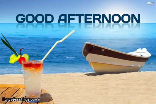 Very Good Afternoon Beach View Wallpaper