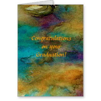 Wonderful Congratulations On Your Graduation Wishes Card