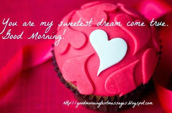 You Are My Sweetest Dream Come True Good Morning Greeting Image
