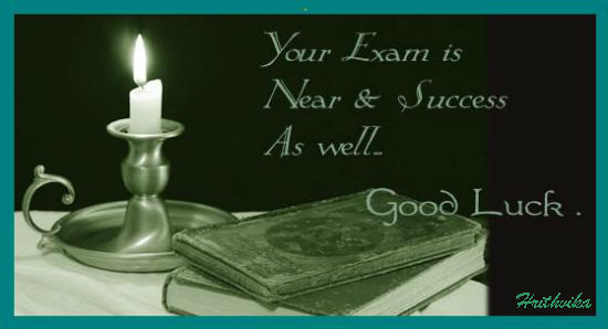 Your Exam Is Near Success As Well Good Luck For Girlfriend