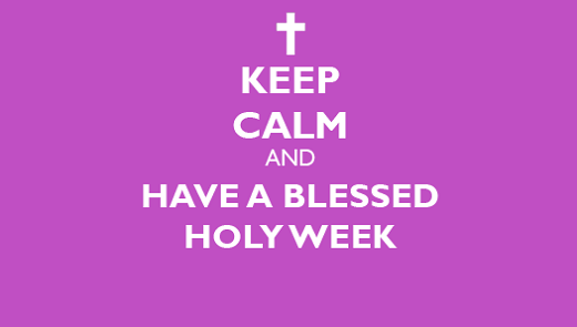 102-Holy Week Wishes