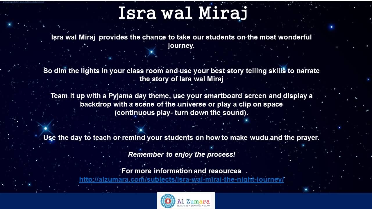12-Isra and Mi'raj Wishes