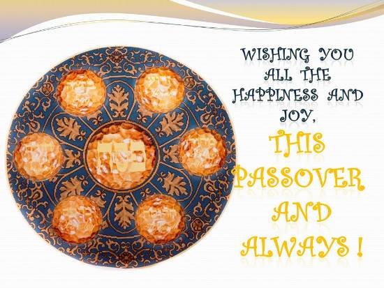 121-Happy Passover Wishes
