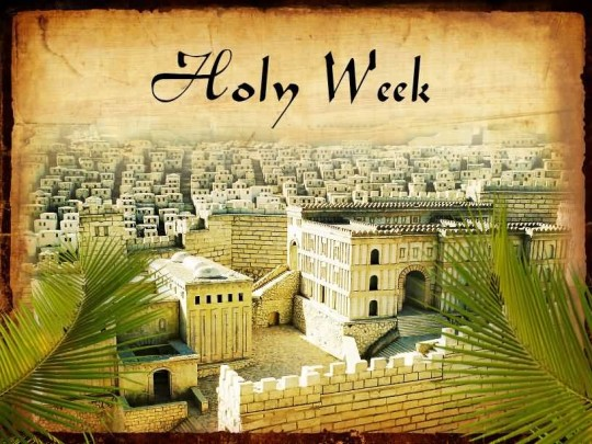 16-Holy Week Wishes