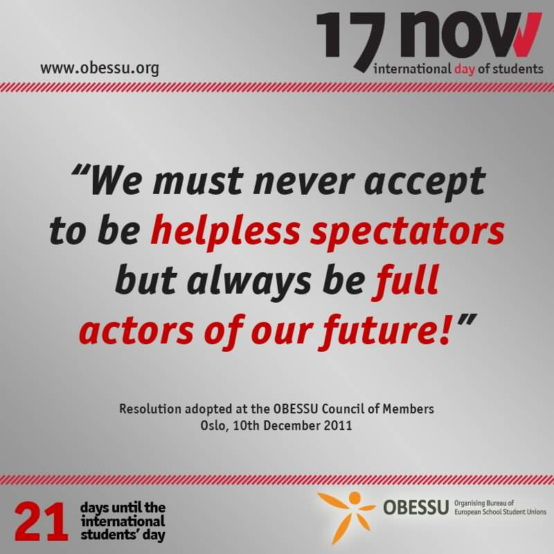 17-International Students Day Wishes