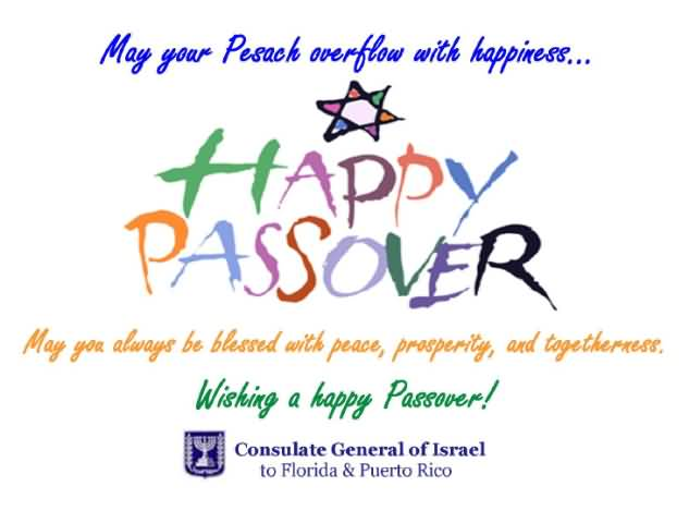 170-Happy Passover Wishes