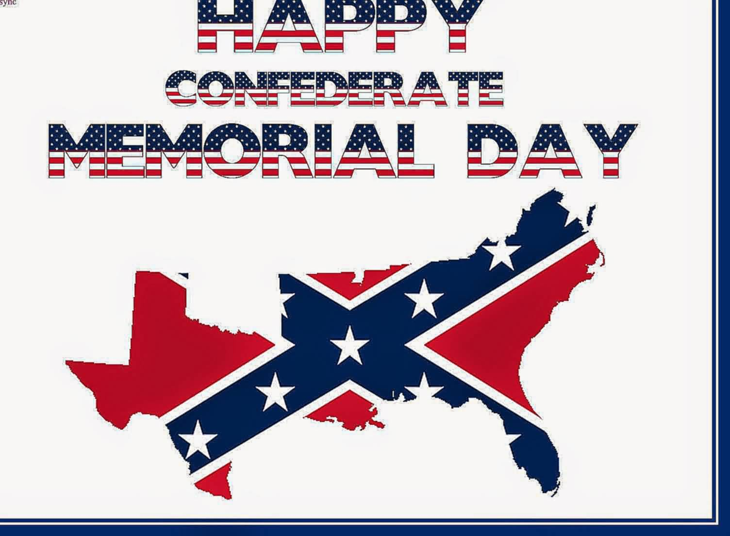 19-Happy Confederate Memorial Day